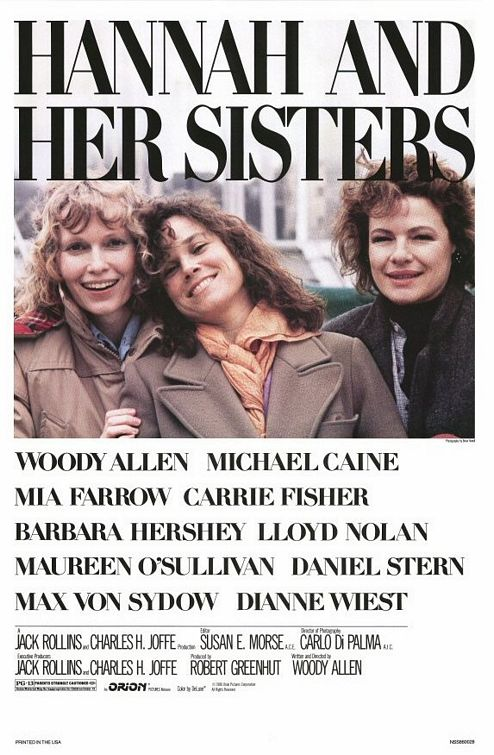 한나와 그의 자매들 (Hannah And Her Sisters, 1986)