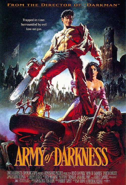 이블 데드 3 : 암흑의 군단 (Army Of Darkness, 1992)