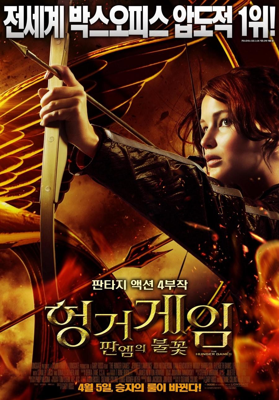헝거게임 : 판엠의 불꽃 (The Hunger Games, 2012)