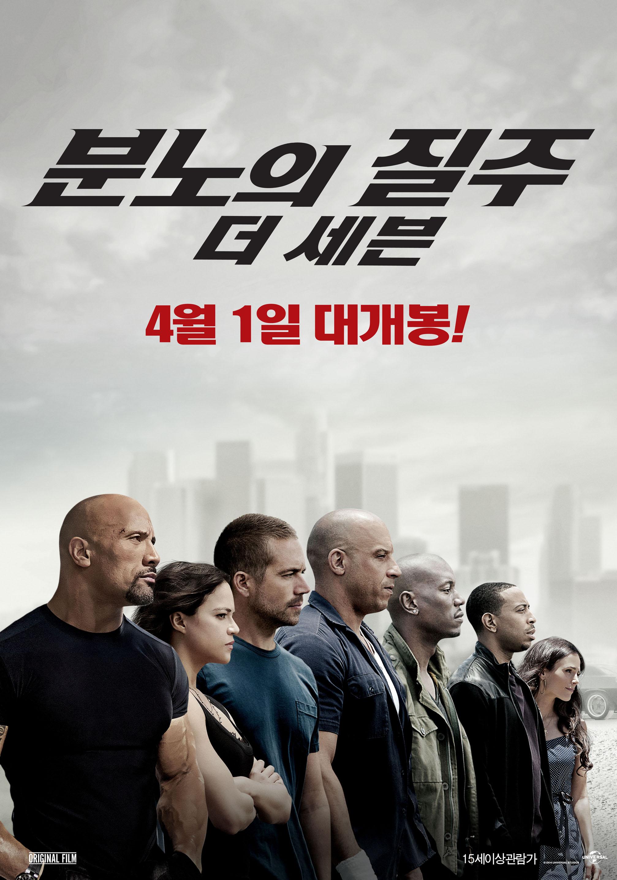 분노의 질주 7 : 더 세븐 (2015)
