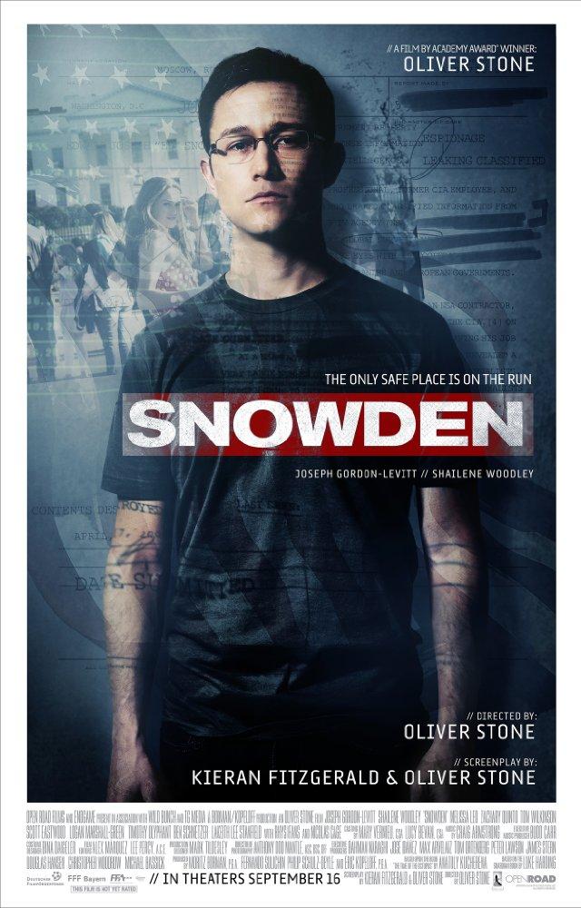 스노든 (Snowden, 2017)