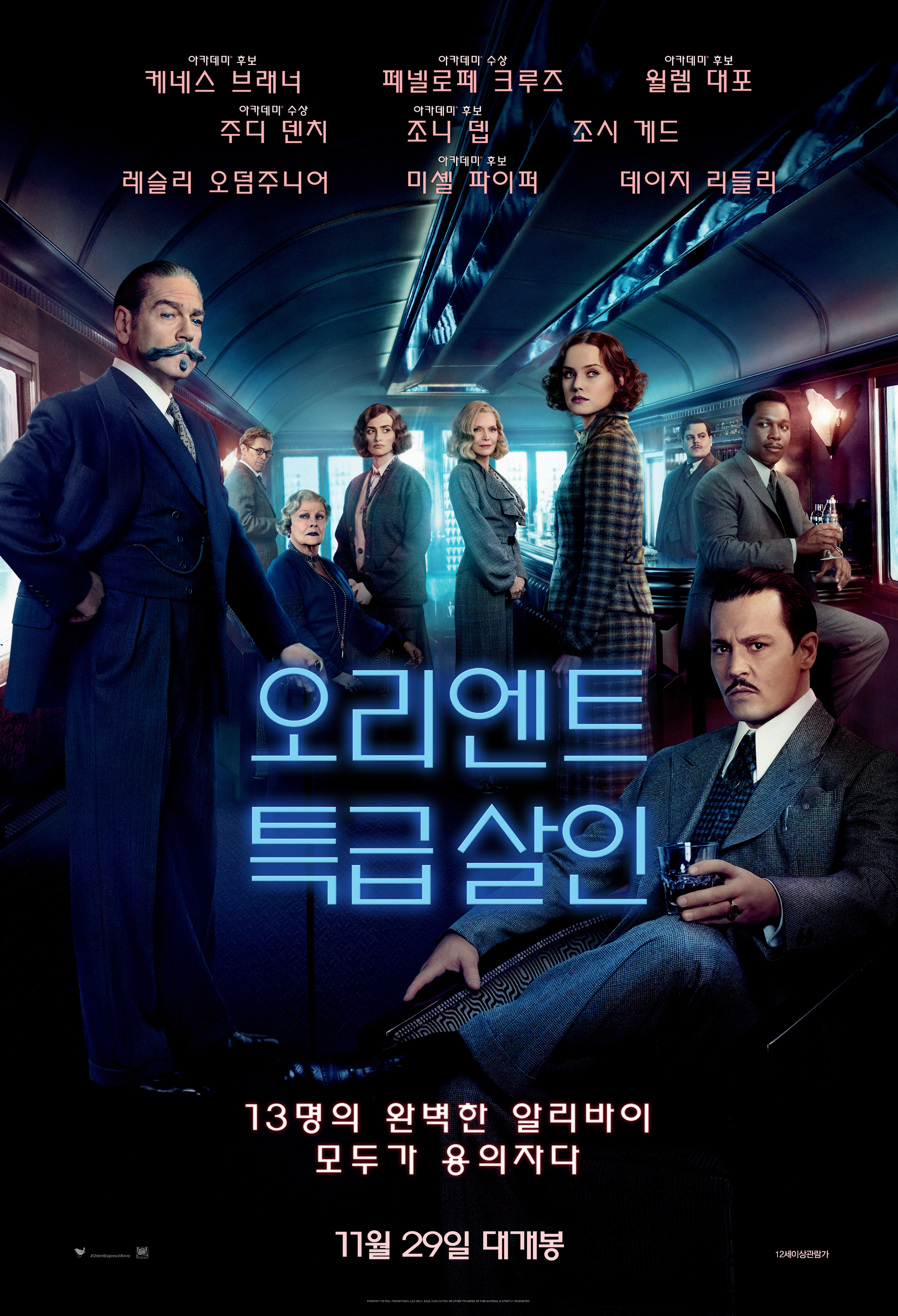 오리엔트 특급 살인 (Murder on the Orient Express, 2017)